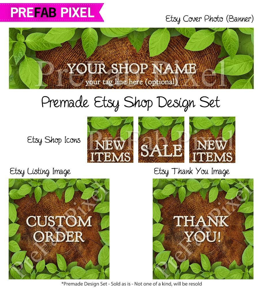 Design banner for etsy - Details This Etsy Banner