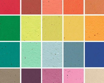 """10 Sheets of Colored Seed Paper - Specialty - 8.5 x 11"""""""
