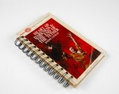 Heart of Darkness- Recycled Book Journal, Notebook, Sketchbook, made from altered book