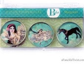 Theater of Dreams Glass Magnets