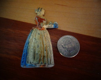 Great Collectible  Bakers Chocolate Girl Pencil Sharpener/ Advertisment Piece Collectible Bakers Chocolate Item/ Collectible Sharpeners