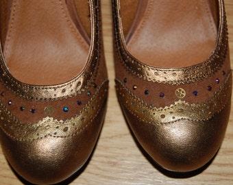 Steampunk inspired heels