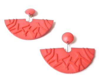 SUMMER SALE 1980s Danish Modern Earrings by Buch and Deichmann