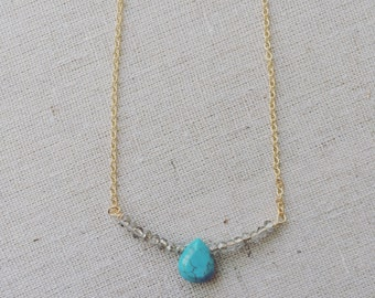 Lost in the Fog simple necklace