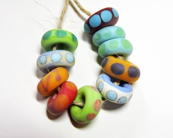 Lampwork Beads NATURALS Two Sisters Designs 072916AD