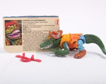 TMNT Vintage Leatherhead Alligator Action Figure Teenage Mutant Ninja Turtles ~ Pink Room ~ 161201