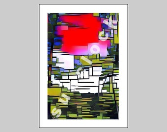 Art Greeting Card CAAT