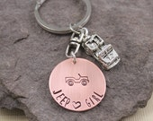 Jeep Girl Key Chain