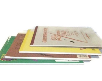 Lot Of Four Various Painting and Art Paper Pads