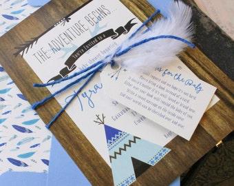 Woodland Baby Shower Invitation - Design Fee