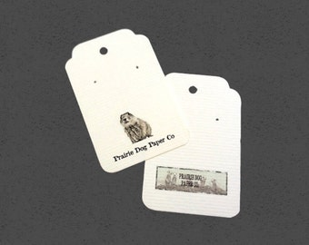 Post Earring Cards, Jewelry Card, Set of 35, Earring Tag, Tag, Jewelry Supply