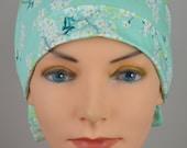 Scrub Hats // Scrub Caps // Scrub Hats for Women // The Hat Cottage // The Mini // Fabric Ties // Cotton Blossom