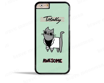 iPhone 7 Case Totally Awesome 80s Miami Vice iPhone 6s Case Miami Cat Samsung Galaxy S7 Case Cool Phone Case