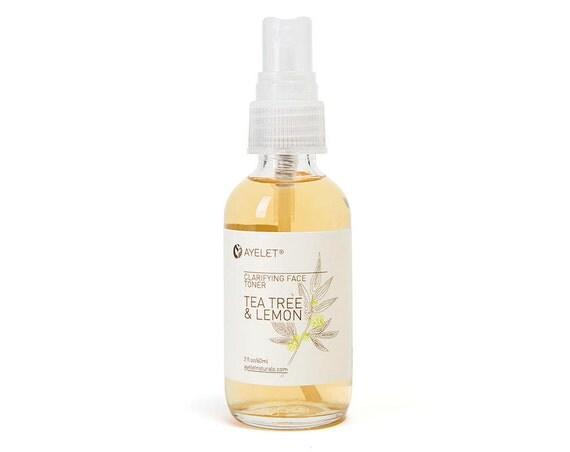 Clarifying Face Toner| Tea Tree Toner| Oily Skin Toner| Acne Pimple Toner|  pH Balance Toner| Combination Skin Balance| Natural Skin  2 oz