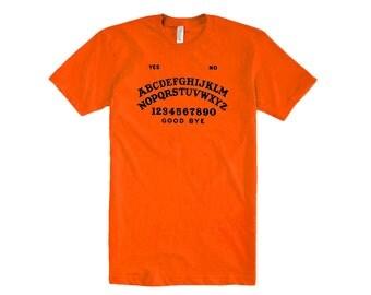 SUPERSALE - Girls Ouija Board T-Shirt in Orange