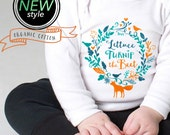 lettuce turnip the beet ® trademark brand OFFICIAL SITE - organic cotton - white long sleeve bodysuit - eco-friendly