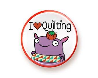 Quilting - button