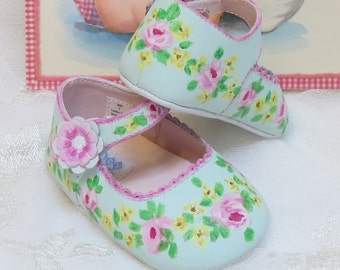 Infant Baby Mary Janes Soft Sole  Leather Shoes