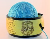 MADE TO ORDER - Hufflepuff Ceramic Yarn Bowl