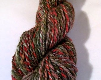SALE  Weathered Barn, handspun wool yarn, 40 g/114 yds