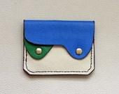 Small Leather  Wallet, Coin Purse, Card Case, Compact Leather Wallet