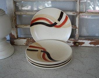 Vintage Mikasa Indian Feast Crossroads Dinner Plates ~ 5