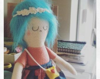 Natalie Rag Doll / Eco Friendly Plush Doll