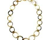 Matte Horn Chain Necklace - Q11948