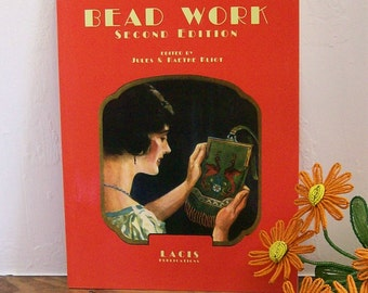 "Beadwork Book Lacis Publications ""Bead Work Second Edition"" Antique Beading Designs"