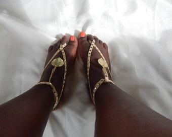 Handmade  Sandals,Beach Sandals, Fashion Accessory,Barefoot Sandals,Wedding Sandals,Foot Jewelry,Boho Sandals,
