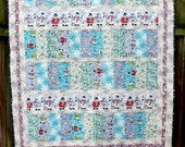All Bundled Up Winter Quilt blanket throw