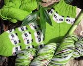 Pre-order - Brand new picture yarn! - Panda Bears!