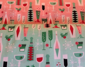 Holiday Party - From Michael Miller - Half Yard Set - 2 Prints - 9.95 Dollars
