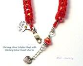 Red Bracelet, Crystal Bracelet, Cruise Jewelry, Dressy Wedding Jewelry, Red Hat Lady B2012-26
