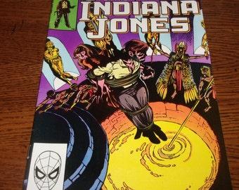 The Further Adventures of Indiana Jones Comic Book-Marvel Comics-Vol 1 No 2 Feb 1983