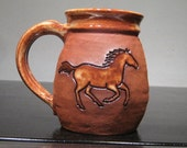 Horse   Mug   ...................                       e893