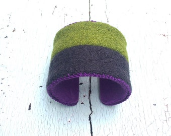 "Nubby Woolly 2"" Adjustable Cuff"