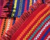 Colorful hand woven coasters