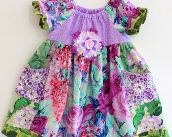 Delightful Garden Dress, toddler dress, girls dress