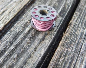 Pink Glass Threads, Simply Lampwork by Nancy Gant SRA G55