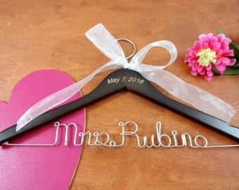 Engraved Wedding Name Hangers