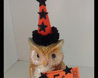 Halloween Decoration Owl Halloween Ornament Halloween Decor