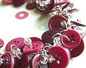 Burgundy Berry - Necklace...