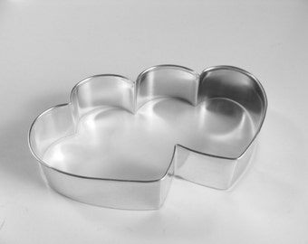 Large Heart Doubled 5 inch Cookie Cutter