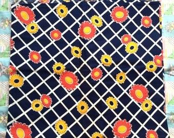 1960s Fabric Piece