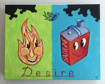Desire - Original Art by Kevin Kosmicki