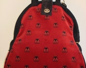 Mini-Mary Poppins Backpack/Project Bag/Book Bag/Knitting Bag-QUEEN BEE