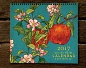 2017 Farmer's Market Art Print Calendar from Rigel Stuhmiller