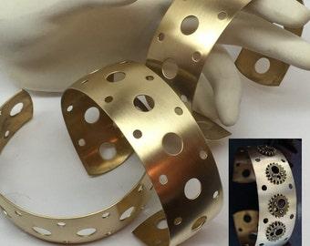 3 Cuffs For The Price Of One, Cuffs, Wholesale Cuff Sale, Destash, USA Metals, Brass Cuffs, Great Price To Design With