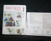 New, Uncut McCall's Craft Dog Costume Outfits Sewing Pattern SEWBUSY12